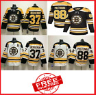 NHL Boston Bruins Jersey David Pastrnak 88 Bergeron 37 Black Hockey S - 4XL $37.99 USD on eBay