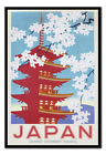 Japan Government Railways Blossom MAGNETIC NOTICE BOARD Inc Magnets | UK Seller