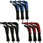 Universal Golf Club Head Covers Replacement Driver Fairway Wood Covers Set Of 3