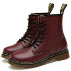 Dr Doc Martin Boots Classic 8 Eyelet Boots White Black Red Ankle Boots Men Women