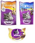 WHISKAS Cat Dental Treats for Oral Care Anti Hairball Crunch Mix Healthy Diet UK