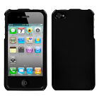 Apple iPhone 4/4S Hard Case Metallic Solid Protector Cover