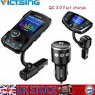 Victsing Wireless Bluetooth Car MP3 Player FM Transmitter Radio Charge Hand-Free