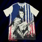 New Elvis Presley America USA Mens Retro Vintage T-Shirt