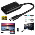 Type C to HDMI Cable Converter USB-C Adapter USB3.1 For Phone Android Tablet MHL