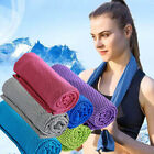 4x Instant Cooling Towels Ice Cold Running Jogging Gym Yoga Chilly Outdoor Towel image