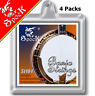 More images of 4 Packs Banjo Strings 4 String Coated Copper Alloy Wound Plated Steel Core Spock