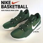 Nike AIR FORCE MAX LOW Men's Basketball Shoe Sneakers Gorge Green size 14 15