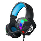 3.5mm Wired Mic Gaming Headset Gamer Headphone Stereo Bass Surround for Laptop
