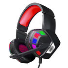 3.5mm Wired Mic Gaming Headset Stereo Surround Headphone For PS4 Laptop Xbox one