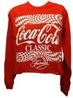 New Coca Cola Coke Womens Sizes S-M-L Red Crop Top Shirt $10.49  on eBay