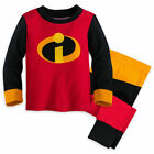 Disney Authentic The Incredibles Pajamas for Baby Size 0 3 6 9 12 18 24 Months