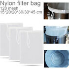 02 Food Special Nut Milk Bag Coffee Filter Cheese cloth Nylon Fine Mesh Strainer