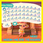 Animal Crossing New Horizons 400 Nook Miles Tickets 800,000 Nook Miles worth