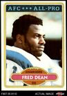 1980 Topps #392 Fred Dean Chargers LA Tech 7 - NM $8.5 USD on eBay