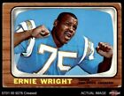 1966 Topps #131 Ernie Wright Chargers Ohio St 3 - VG $6.25 USD on eBay