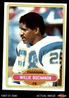 1980 Topps #149 Willie Buchanon Chargers San Diego St 8 - NM/MT $0.99 USD on eBay