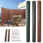Bamboo Fence Garden Fencing Screening Roll Privacy Wind Screen Covers W/ Fixings