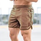 Mens Sports Training Bodybuilding Summer Shorts Workout Fitness GYM Shorts Pants
