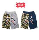 shark mouth short 1st camo side shark bottom with back pocket in grey/red NEW  <br/> ✅FREE 2 DAY SHIPPING ✅USA SELLER ✅ 60-DAY RETURN