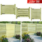 Wooden Garden Side Gate Fsc Impregnated Pinewood Fence Door Pannel Gate Green
