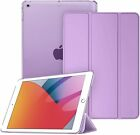For iPad 8th 2020 /7th Gen 10.2 inch 2019 Case Slim Translucent Full Smart Cover