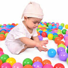 800pc Ball Pit Balls Play Kids Plastic Baby Ocean Soft Toy Colourful Playpen