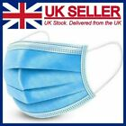 Face Mask Disposable Respiration Surgical  Mouth Cover 3PLY Breathable Dust Mask