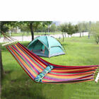 Hot Sell Portable Cotton Rope Hanging Tree Hammock Outdoor Swing Camping Sleep