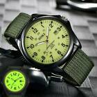 Men's Military Watch Nylon Strap Outdoor Watches Canvas Date Wrist Watches  image
