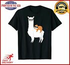 Sloth riding llama Funny Tshirt gift for men women kids TShirt