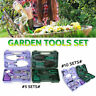 More images of 5 / 10pcs DIY Garden Gardening Hand Tool Kit Set Carrying Case Heavy Duty Stylish