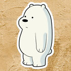 We Bare Bears Ice Bear Cub Cute Adorable Car Window Wall Die Cut Decal Sticker