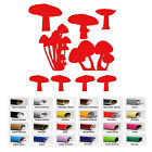 9 Mushrooms vinyl decal Sticker for Car Window Bumper Wall Door Room Laptop Art