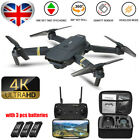 Drone X Pro WIFI FPV 1080P HD Camera 3 Battery Foldable Selfie RC Quadcopter UK