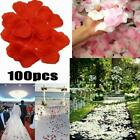 100pieces Artificial Rose Petals Silk Flower Party For Wedding Decor K1t4