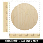 Beach Ball Unfinished Wood Shape Piece Cutout for DIY Craft Projects
