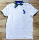 Men Polo Ralph Lauren BIG PONY Mesh Polo Shirt - S M L XL XXL - CLASSIC FIT