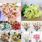 Artificial Fake Rose Flower Plastic Plant Decoration Home Outdoor Garden Wedding