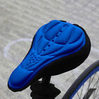 Bike Bicycle Silicone 3D Gel Saddle Seat Cover Pad Padded Soft Cushion Comfort