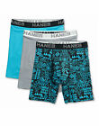 Hanes Ultimate Boxer Briefs Assorted 3-Pack Men's Comfort Flex Fit Cotton/Modal <br/> Official Hanes Brands Store -- First Quality Authentic