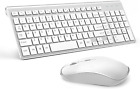 Wireless Keyboard And Mouse Combo Compact Slim For Laptop PC Desktop Set - New