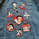 Betty Boop Sexy Girl Character Cartoon Iron Sewing On Patches Embroidered DIY $13.89 CAD on eBay