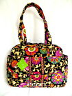 Vera Bradley Baby Diaper Bag Tote with Changing Pad Suzani NWT HTF