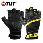 Weight Lifting Gloves Sheep Leather Gym Glove Bodybuilding Nonslip Wrist Wraps