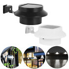 Solar Wall Powered Light Led Garden Outdoor Gutter Fence Yard Clip-on Roof Lamp