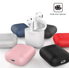 AirPods Silicone Case Cover Shockproof Protective Skin for Apple Airpods .