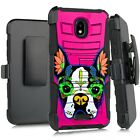 Holster Case For WIKO LIFE C210AE/ LIFE 2 U307AS Phone Cover- PINK SUGAR TERRIER