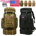 Outdoor Military Rucksack Tactical Shoulder Backpacks Camping Hiking Trek Bag