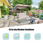 Swing Top Cover Patio Chair Awning Canopy Replacement Anti-UV Waterproof Outdoor